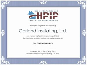 HPIP Platinum Certification
